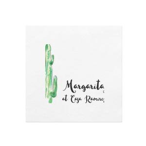 Cactus Photo/Full Color Napkin