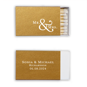 Mr. & Mrs. Match