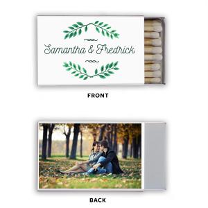 Leaf Frame Photo/Full Color Matchbox