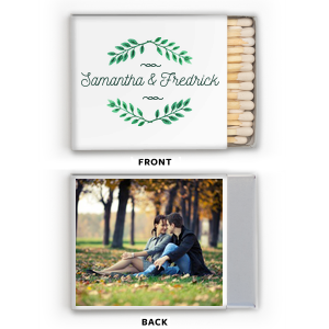 Leaf Frame Photo/Full Color Matchbox