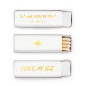 Peace. Joy. Love. Match