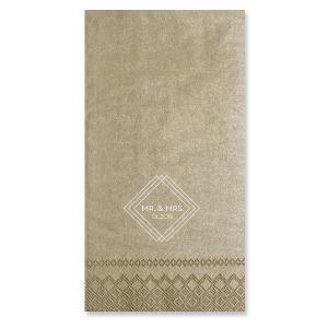 Industrial Mod Shimmer Napkin