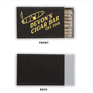 Cigar Bar Leather Match