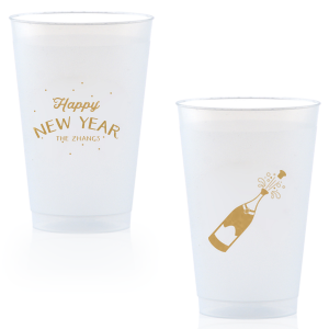 Happy New Year Fireworks Cup