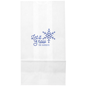 Let It Snow Bag