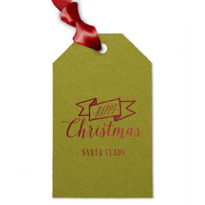 Santa Claus Tag