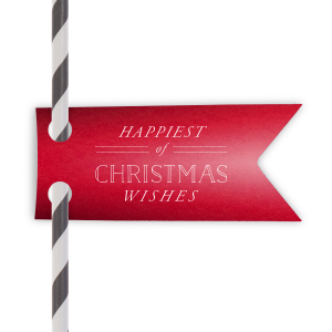 Happiest Of Christmas Wishes Tag