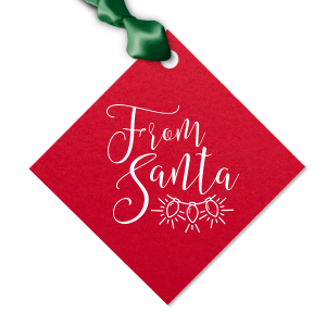 From Santa Christmas Tag