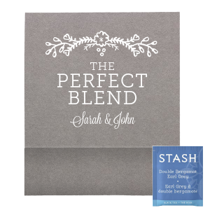 Perfect Blend Flowers Tea Favor
