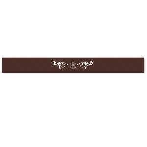 Sappho Monogram Ribbon