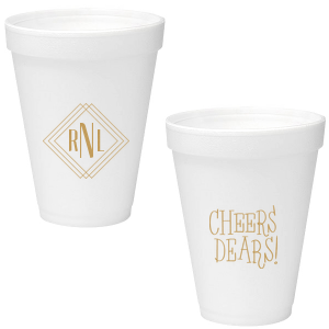 Diamond Initials Cup