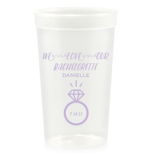 Bachelorette Engagement Ring Stadium Cup