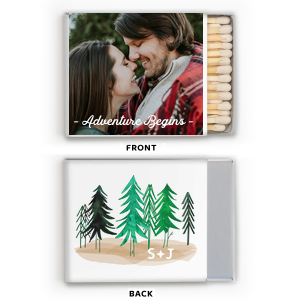 Rustic Adventure Photo/Full Color Matchbox