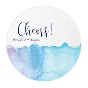 Blue Water Photo/Full Color Coasters