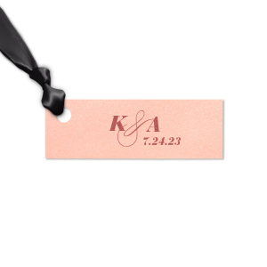 Initials with Date Tag