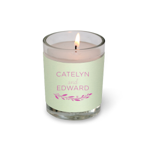 Branch Names Votive Candle