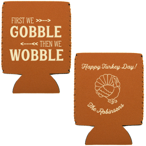Gobble Wobble Can Cooler