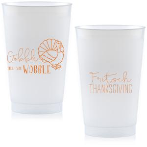 Gobble Till You Wobble Frost Flex Cup