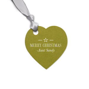 Christmas Star Tag