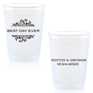 Best Day Ever Floral Cup