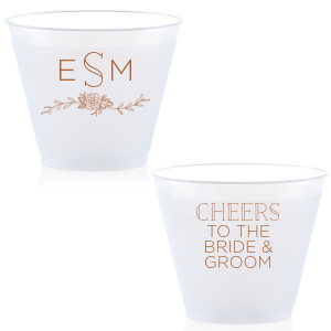 Peony Accent Cheers Cup