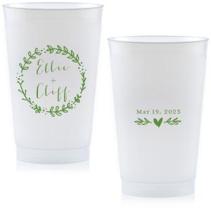 Leaf Wreath Cup