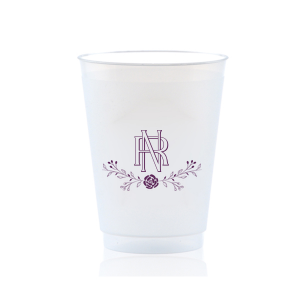 Entwined Initials Frost Flex Cup
