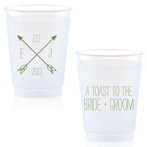 Arrow Monogram Cup