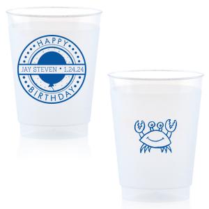 Birthday Badge Crab Cup