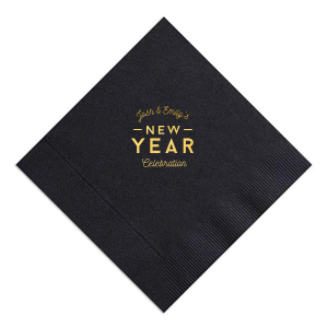 New Year Celebration Napkin