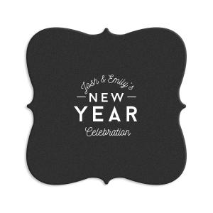 New Year Celebration Coaster