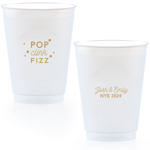 Pop Clink Fizz Bubbly Cup