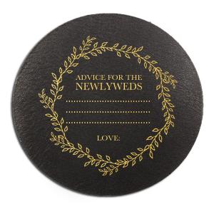 Newlywed Advice Coaster