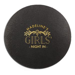 Girls' Night In Coaster