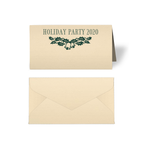 Holiday Bells Place Card