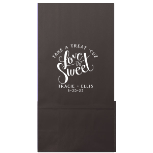 Love Is Sweet Treat Bag