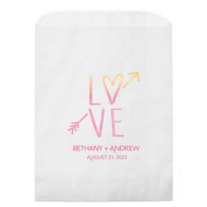 LOVE Photo/Full Color Party Bag