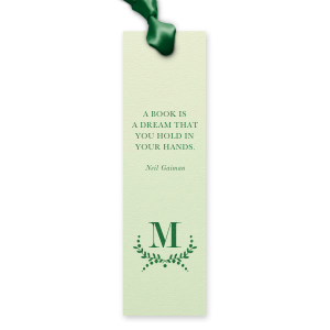 Branch Monogram Dream Bookmark