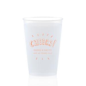 Cheers Confetti Frost Flex Cup