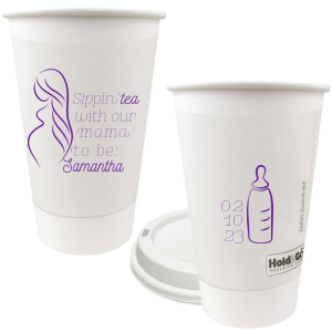 Tea Mama-To-Be Paper Cup