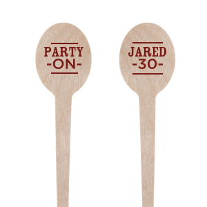 Party On Stir Stick