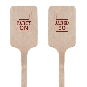 Party On Stir Stick