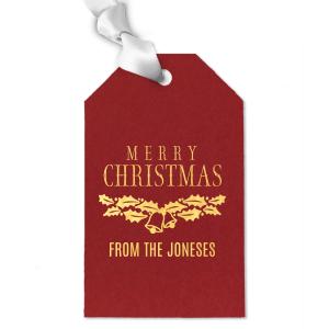 Holiday Bells Gift Tag