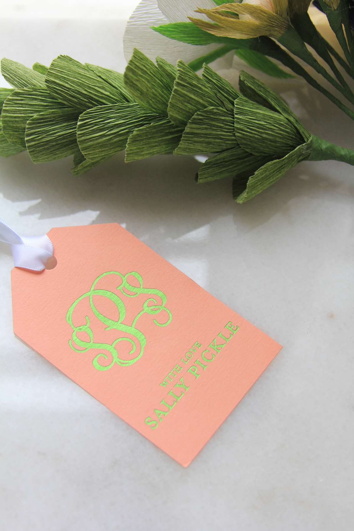 personalized gift tags for wedding welcome gifts and wedding favors