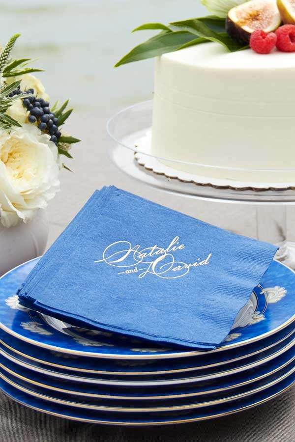 Beverage wedding Napkin