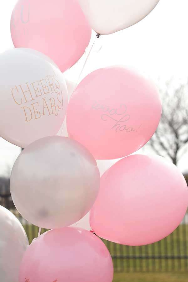 Custom balloons for your birthday celebration