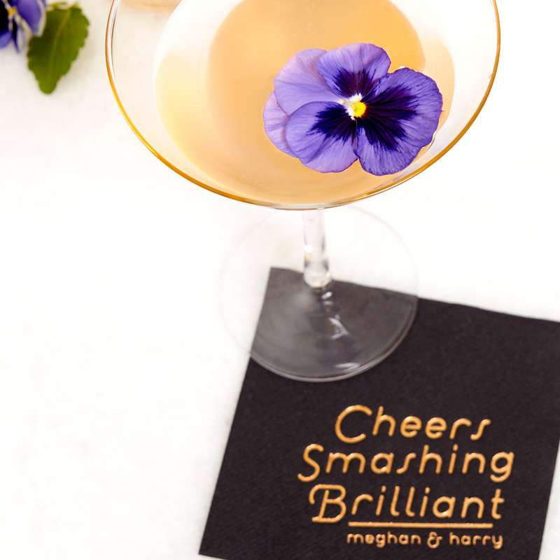elderflower and champagne cocktail for royal wedding celebrations