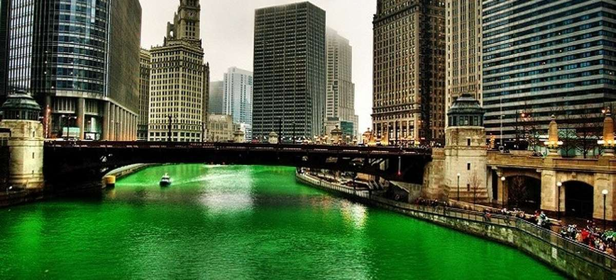 Chicago River Green