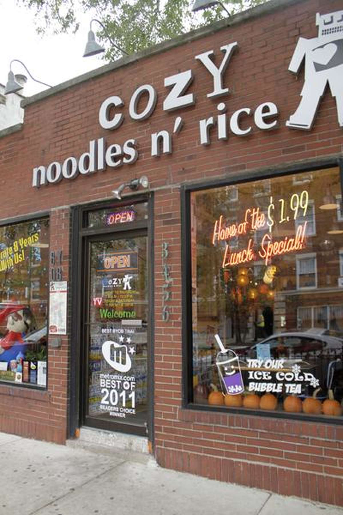 Cozy Noodles n' rice Chicago