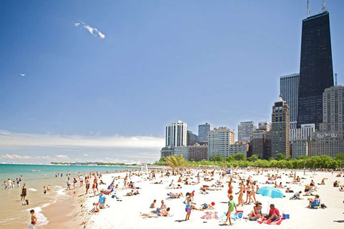 Lake Michigan Chicago Beach
